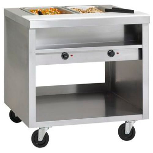 Delfield 5 Well Hot Food Table 74″ EHEI74C