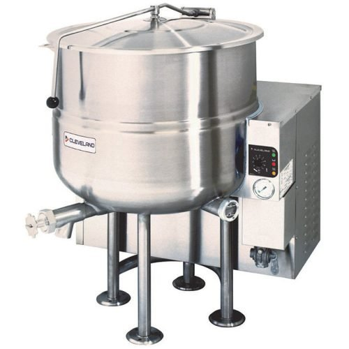 Cleveland Gas Stationary 60 Gallon Steam Kettle KGL60