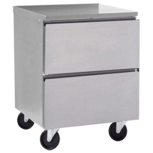 Delfield 27″ Two Drawers Undercounter/Worktable Freezer GUF27P-D