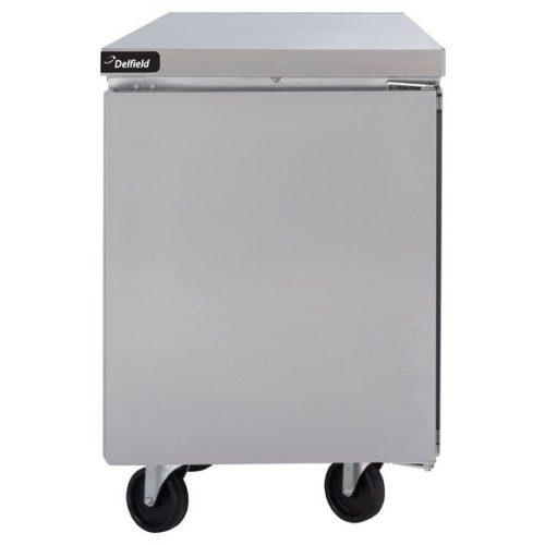 Delfield 27″ One Door Undercounter/Worktable Freezer GUF27P-S