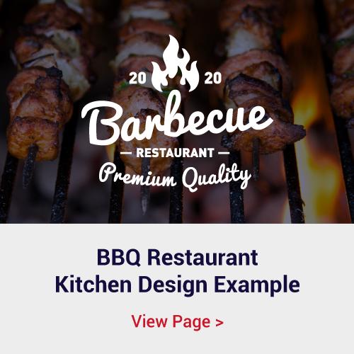 BBQ Restaurant Kitchen