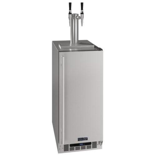 """U-Line 15"""" 2 Tap Nitro Cold Coffee Dispenser CDE215H"""