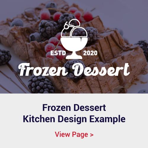Frozen Dessert Shop Kitchen Example