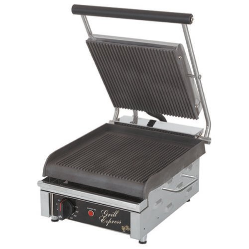 """Star Grill Express™ 10"""" Grooved Sandwich Grill GX10IG"""