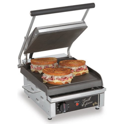 Star Grill Express™ 10″ Smooth Sandwich Grill GX10IS