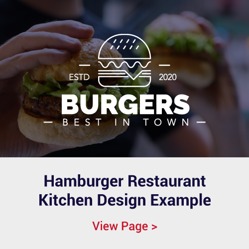 Hamburger Kitchen Restaurant Design