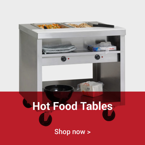 Hot Food Tables