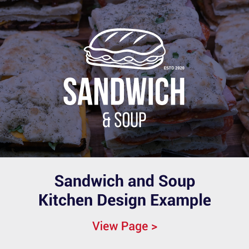 Sandwich Shop Kitchen and Servery Design