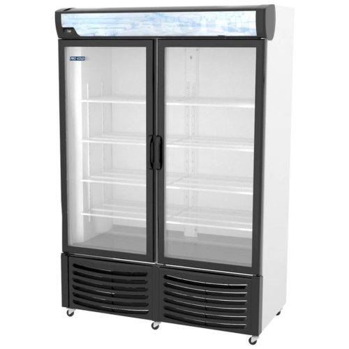 Pro-Cold DURF32W Vertical Display Freezer
