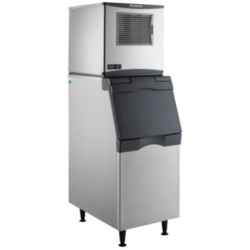Scotsman 420lb Nugget Ice Maker with B530P Ice Bin and Filter N0422A‐1