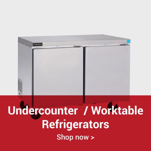 Undercounter & Worktable Refrigerators