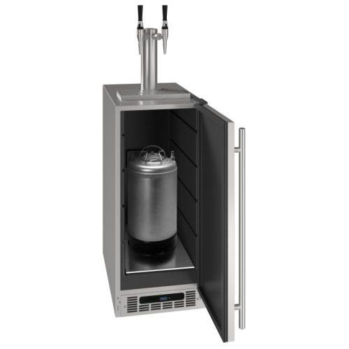 """U-Line 15"""" 3 Cold Coffee Dispenser UCDE215BSS03A"""