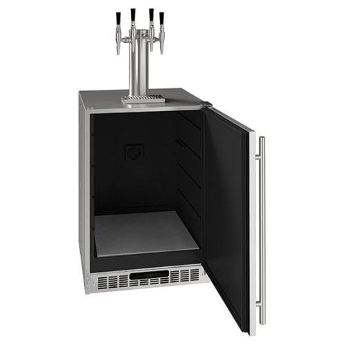 "U-Line 24"" 4 Tap Nitro Coffee Dispenser UCDE224CSS03A"