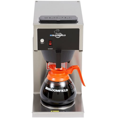 Bloomfield Koffee King® One Warmer In-Line Pour-Over, Lo-Profile Coffee Brewer 4B-8542-D1-120V