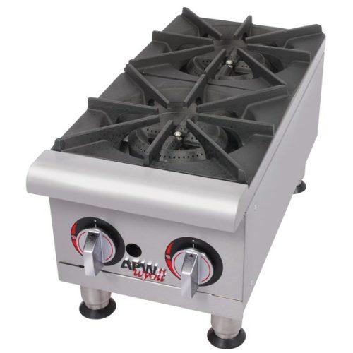 APW Wyott Flat Gas Hot Plate GHP-2i