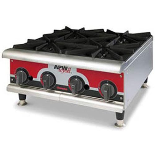 APW Wyott Flat Gas Hot Plate GHP-4i