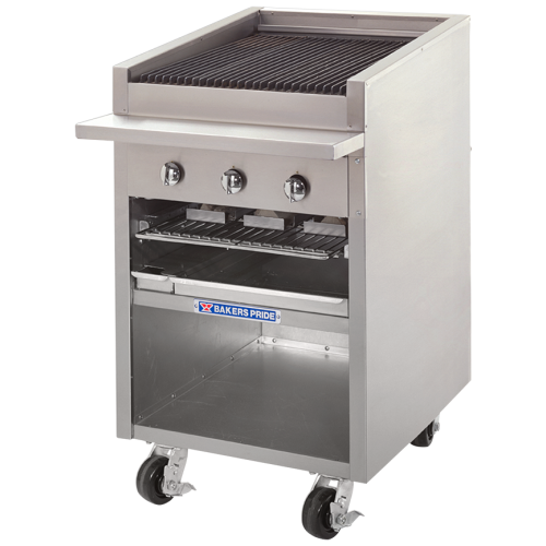 Bakers Pride Dante Series Commercial Gas Charbroiler F-24R
