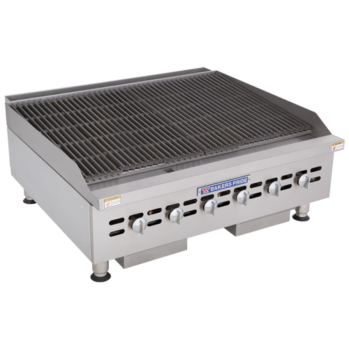 Bakers Pride Gas Countertop Charbroiler BPHCRB-2436i