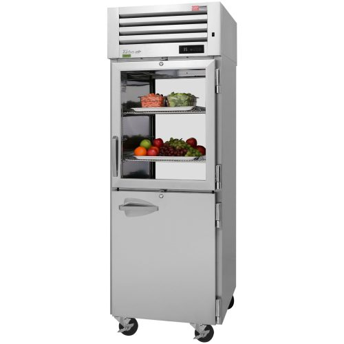 Turbo Air Reach-in One Section Refrigerator PRO-26R-GSH-N