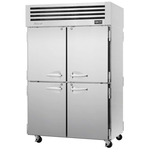 Turbo Air Reach-in Two Section pass-thru refrigerator PRO-50-4R-PT-N