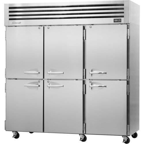 Turbo Air Reach-in Three Section Freezer PRO-77-6F-N