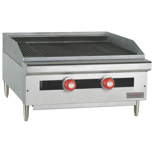 Therma-Tek Heavy Duty Gas Griddle TC48-48CRBN
