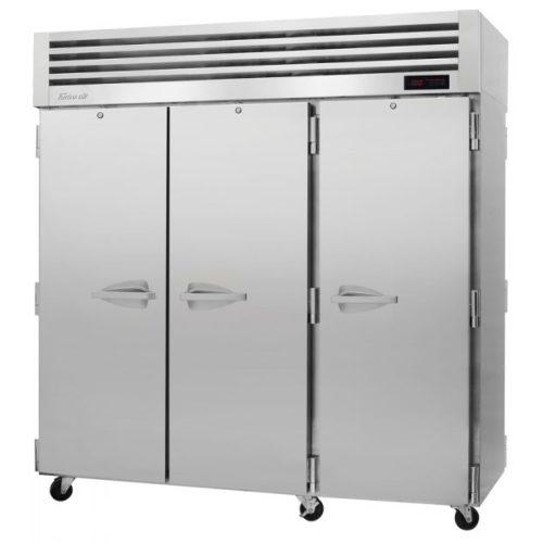 TurboAir 3 Solid Doors Top Mount Heated Cabinet PRO-77H