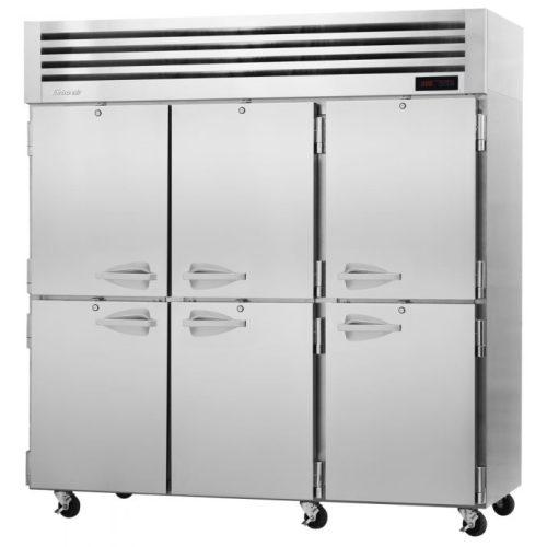 TurboAir 4 Solid Half-Doors Top Mount Heated Cabinet PRO-77-6H