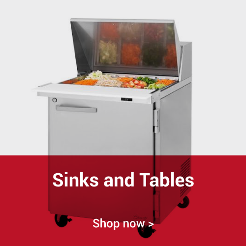 Sinks and Tables