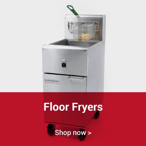 Floor fryers